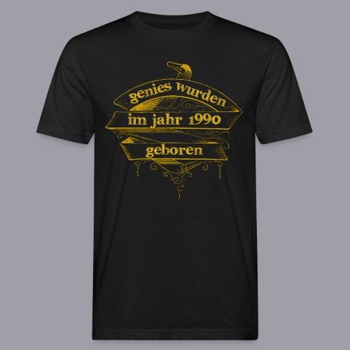 Genies wurden im Jahr 1990 geboren - Männer Bio-T-Shirt