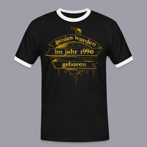 Genies wurden im Jahr 1990 geboren - Männer Kontrast-T-Shirt
