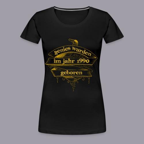 Genies wurden im Jahr 1990 geboren - Frauen Premium T-Shirt
