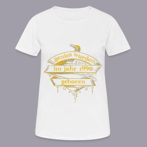 Genies wurden im Jahr 1990 geboren - Frauen T-Shirt atmungsaktiv
