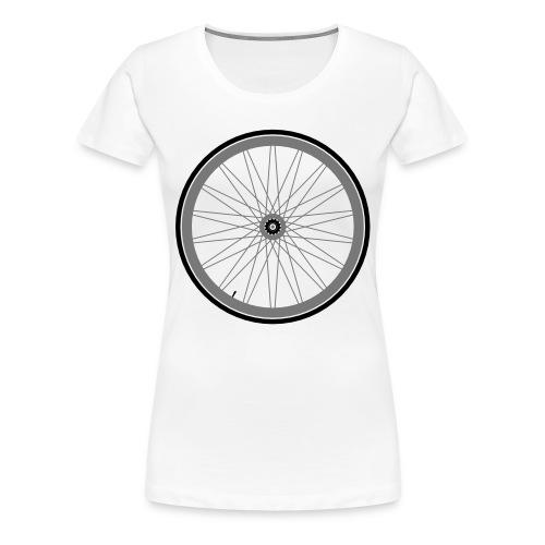 Roue de vélo - T-shirt Premium Femme