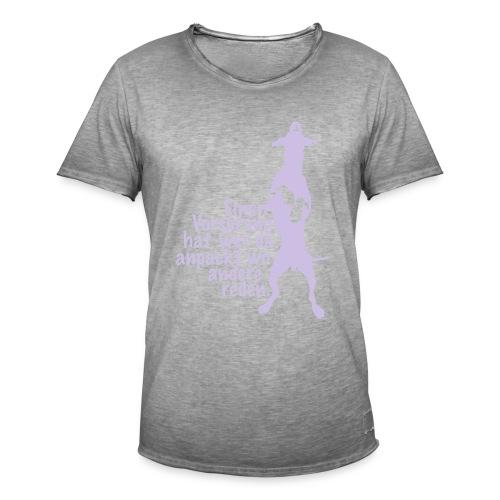 Vorsprung durch Handlung - Männer Vintage T-Shirt