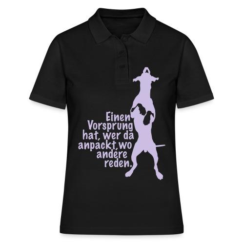 Vorsprung durch Handlung - Frauen Polo Shirt