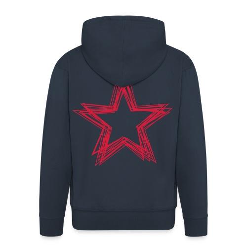 Red Star - Männer Premium Kapuzenjacke