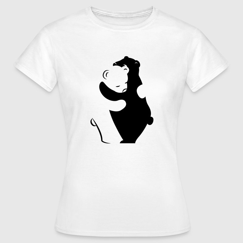 Bears Hugging T-Shirts - Women's T-Shirt