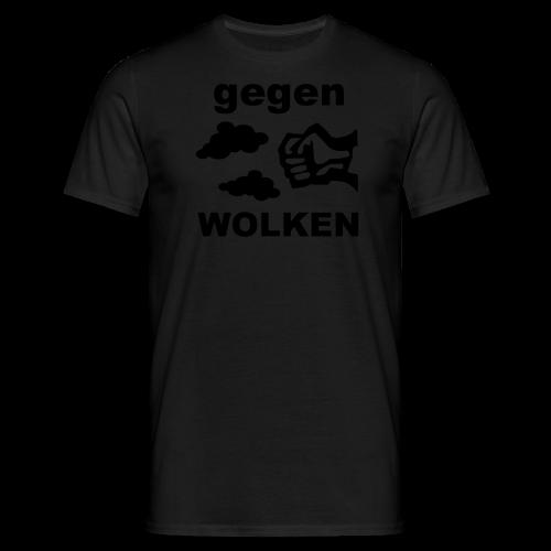 Gegen Wolken! Grau - Männer - Männer T-Shirt