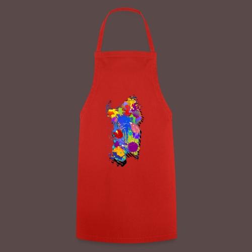 Sardegna, Silhouette Paint - bambini - Grembiule da cucina