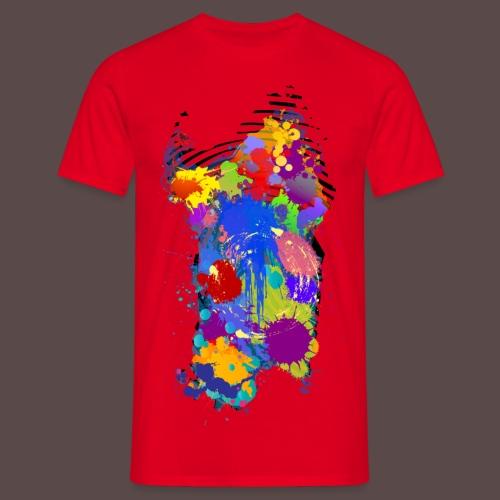 Sardegna, Silhouette Paint - bambini - Maglietta da uomo