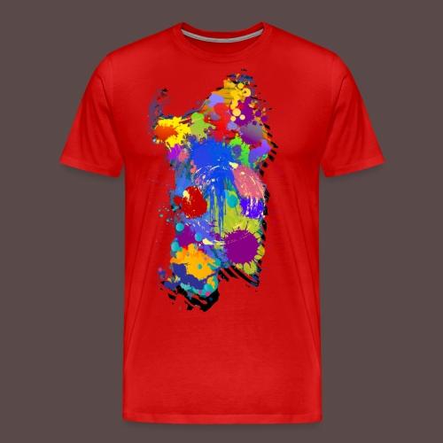 Sardegna, Silhouette Paint - bambini - Maglietta Premium da uomo