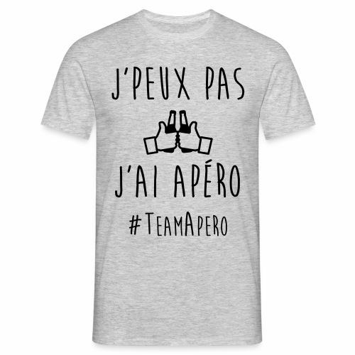 J'PEUX PAS J'AI APERO #TEAM APERO - T-shirt Homme