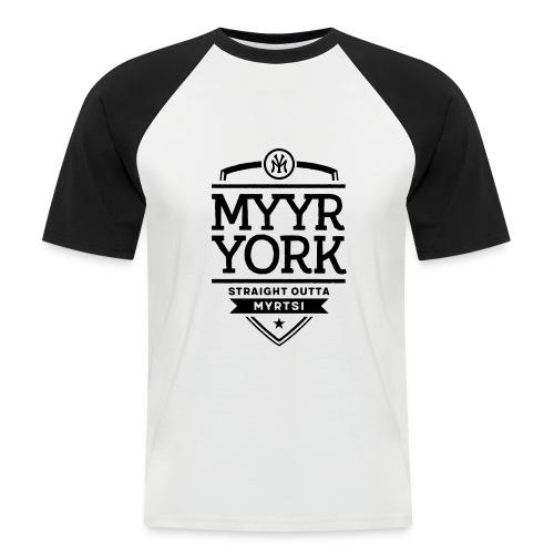 Myyr York - Straight Outta Myrtsi - Miesten lyhythihainen baseballpaita