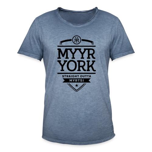 Myyr York - Straight Outta Myrtsi - Miesten vintage t-paita
