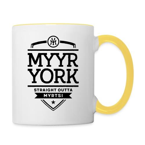 Myyr York - Straight Outta Myrtsi - Kaksivärinen muki