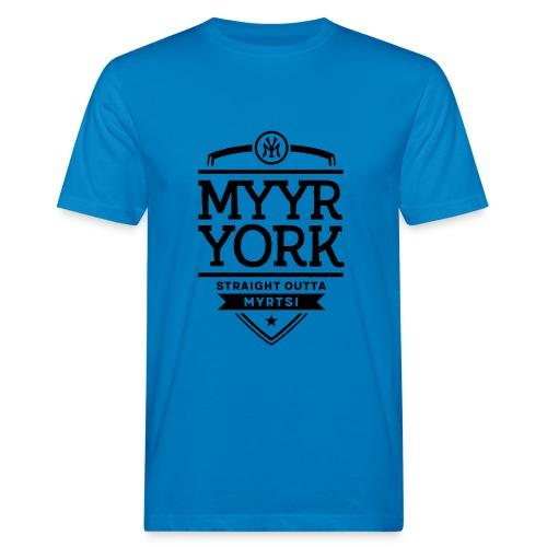 Myyr York - Straight Outta Myrtsi - Miesten luonnonmukainen t-paita