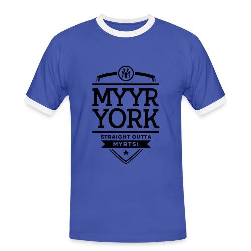 Myyr York - Straight Outta Myrtsi - Miesten kontrastipaita