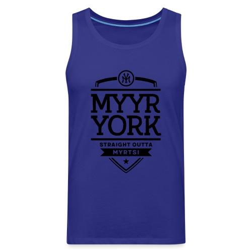 Myyr York - Straight Outta Myrtsi - Miesten premium hihaton paita