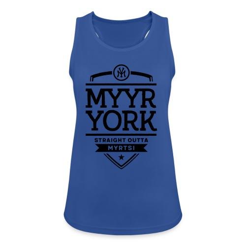 Myyr York - Straight Outta Myrtsi - Naisten tekninen tankkitoppi
