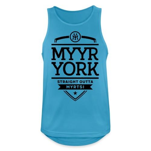 Myyr York - Straight Outta Myrtsi - Miesten tekninen tankkitoppi