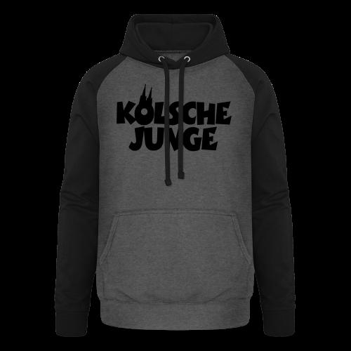 Kölsche Junge (Weiß) Kölner Jungs aus Köln - Unisex Baseball Hoodie