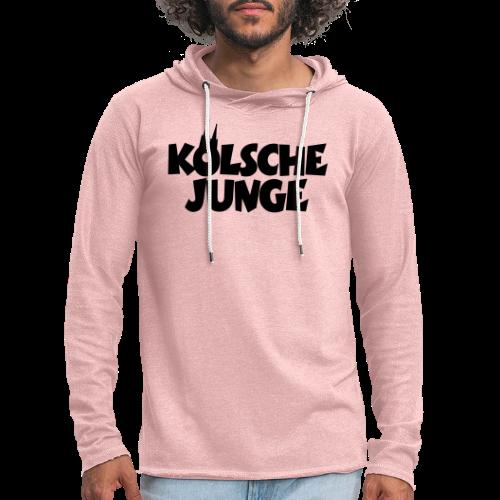 Kölsche Junge (Weiß) Kölner Jungs aus Köln - Leichtes Kapuzensweatshirt Unisex