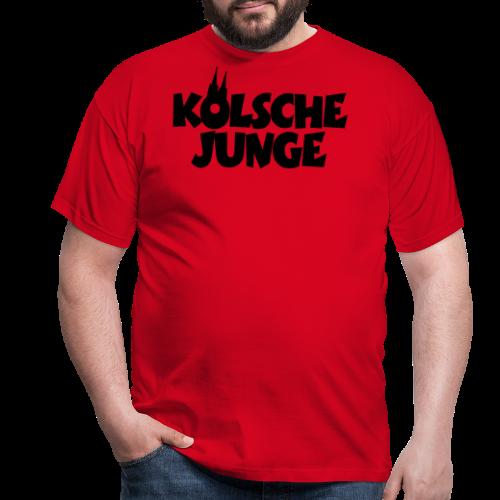 Kölsche Junge (Weiß) Kölner Jungs aus Köln - Männer T-Shirt