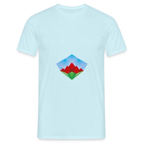Diamantberge - Männer T-Shirt