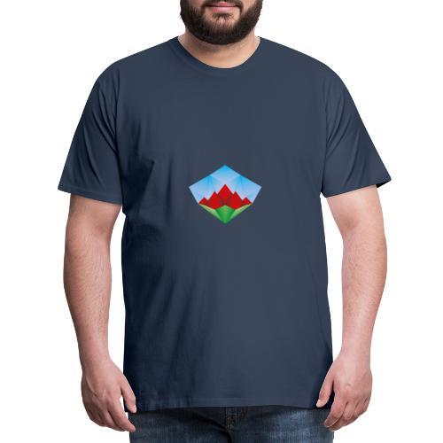 Diamantberge - Männer Premium T-Shirt