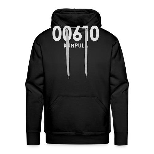 00610 KUMPULA - Miesten premium-huppari