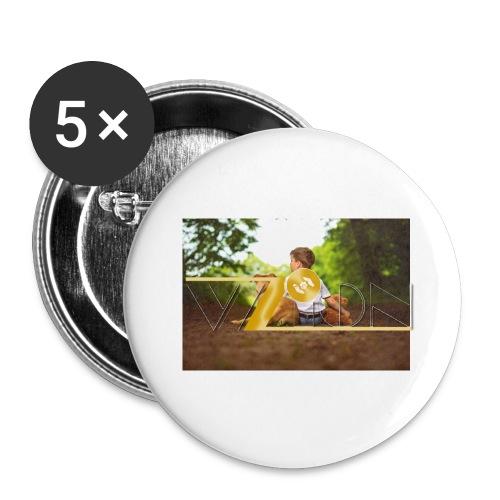 Tasse - Buttons klein 25 mm (5er Pack)