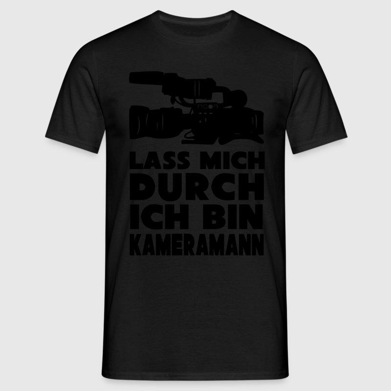 Kameramann T-Shirts - Männer T-Shirt