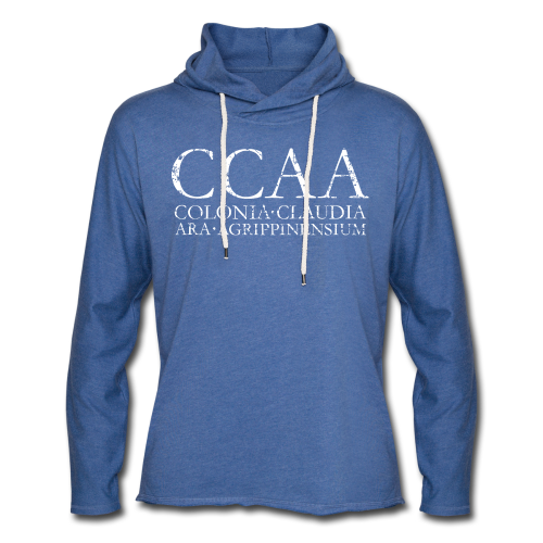 CCAA Colonia Claudia Ara Agrippinensium (Vintage Weiß) - Leichtes Kapuzensweatshirt Unisex
