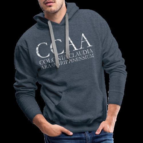 CCAA Colonia Claudia Ara Agrippinensium (Vintage Weiß) - Männer Premium Hoodie