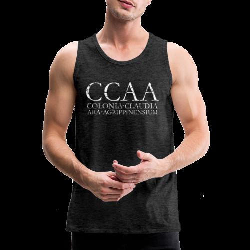 CCAA Colonia Claudia Ara Agrippinensium (Vintage Weiß) - Männer Premium Tank Top