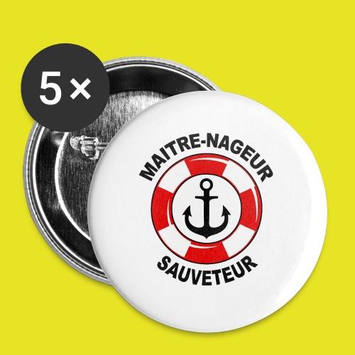Badge Maître Nageur Sauveteur - Badge petit 25 mm