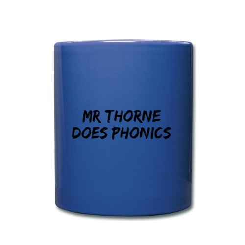 Mr Thorne Does Phonics Tote Bag (Blue) - Full Colour Mug