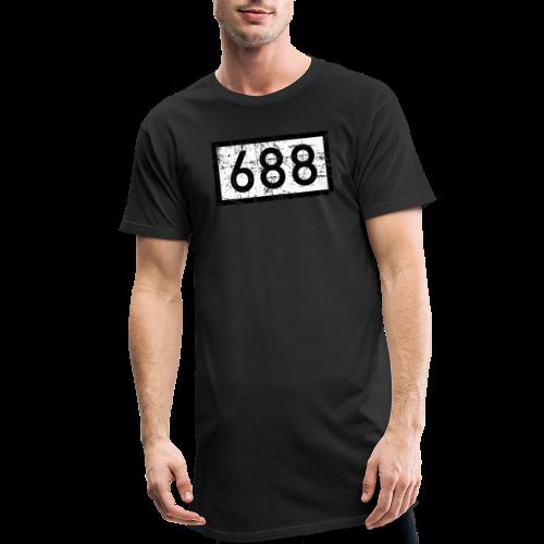 Köln Rheinkilometer 688 (Vintage) - Männer Urban Longshirt