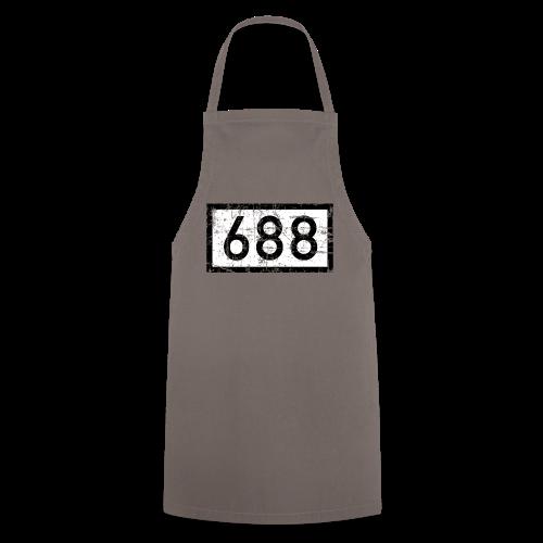 Köln Rheinkilometer 688 (Vintage) - Kochschürze