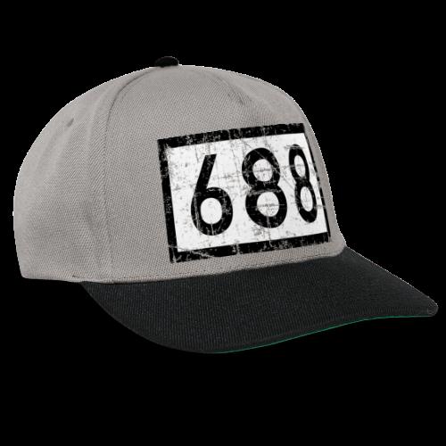 Köln Rheinkilometer 688 (Vintage) - Snapback Cap