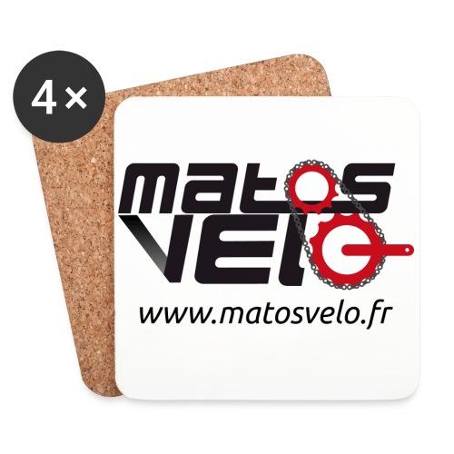 Tasse café Matos vélo - Dessous de verre (lot de 4)