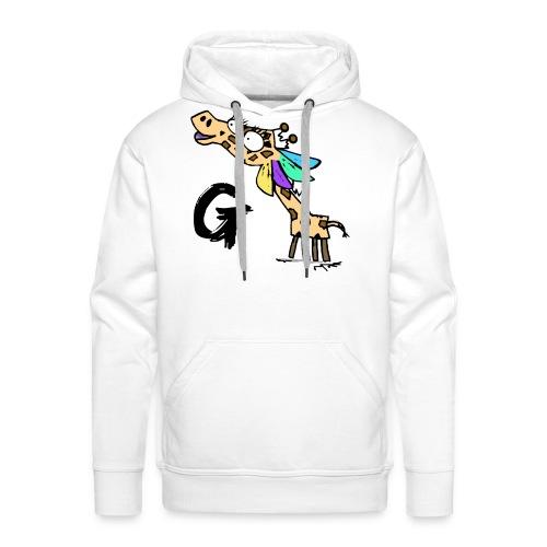 Geraldine G Tee - Men's Premium Hoodie