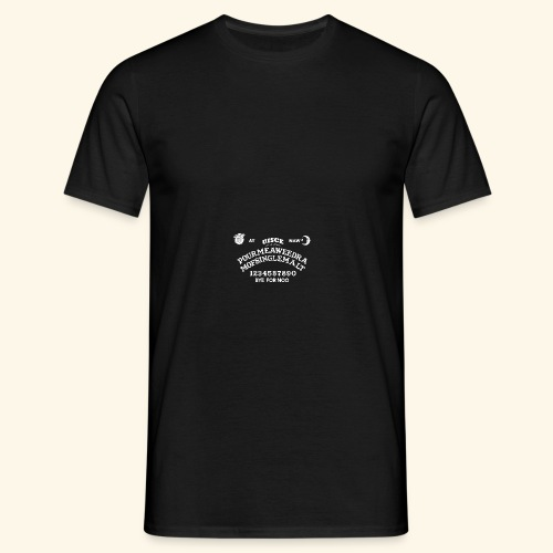 Scottish Ouija Board - Männer T-Shirt