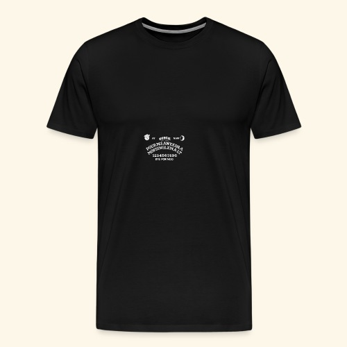 Scottish Ouija Board - Männer Premium T-Shirt