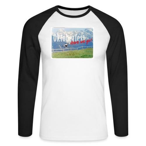 Oktoberfest – Here we go! - Men's Long Sleeve Baseball T-Shirt