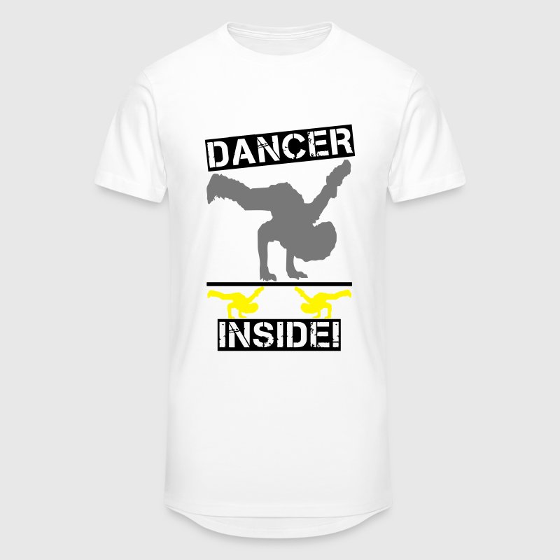 Dancer inside! T-Shirts - Männer Urban Longshirt