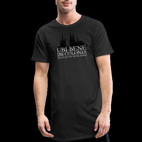 UBI BENE DO ES KÖLLE Dom St.Martin (Vintage S/W) Köln Skyline - Männer Urban Longshirt