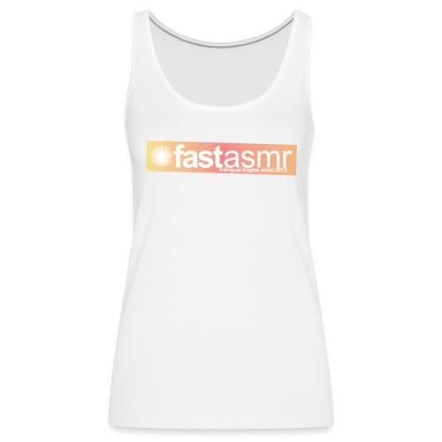 fastASMR Tee - Women's Premium Tank Top