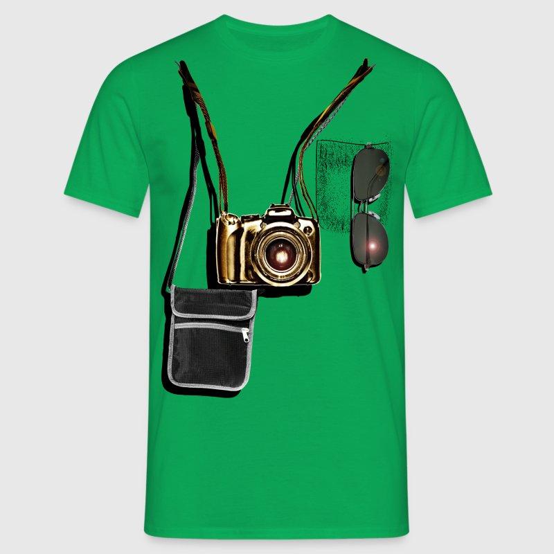 professional tourist - Herre-T-shirt