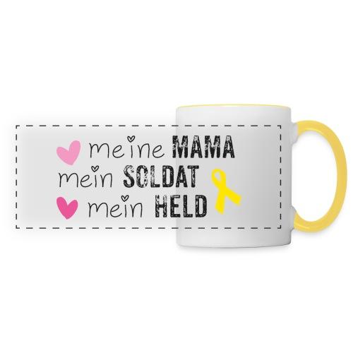Meine Mama, mein Soldat, mein Held  - Panoramatasse