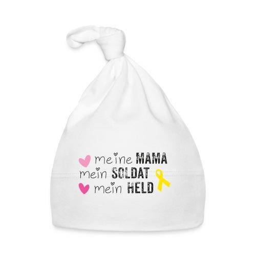 Meine Mama, mein Soldat, mein Held  - Baby Mütze