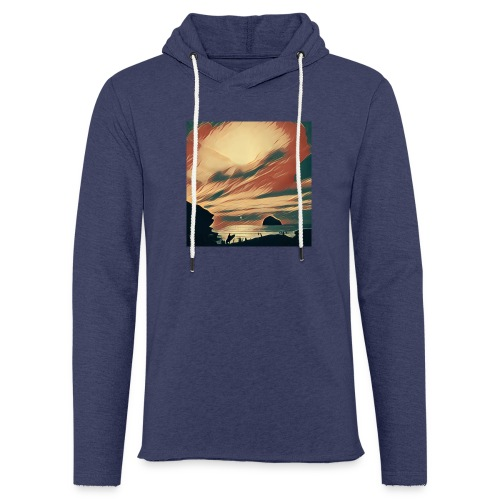 Light Unisex Sweatshirt Hoodie - Water,Surfing,Surf,Seaside,Sea,Scene,Cornwall,Beach